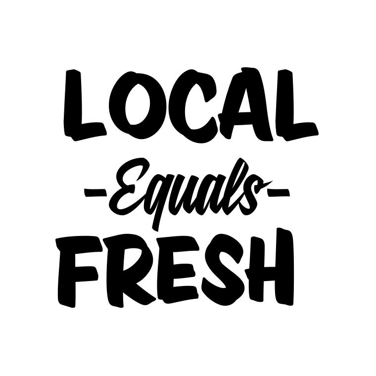 Local Equals Fresh
